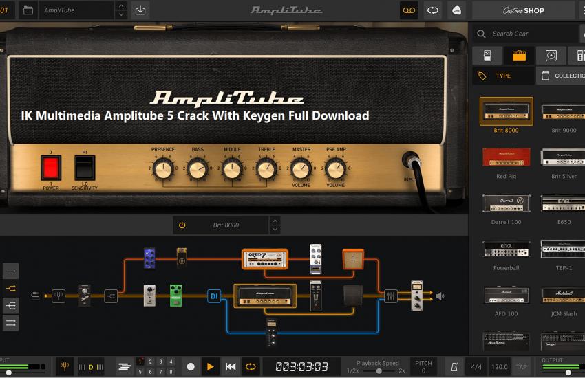 Amplitube Crack 5.0.3 Full Version Download [PC + Mac] 2021 Latest